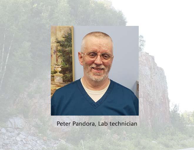 Peter Pandora lab tech