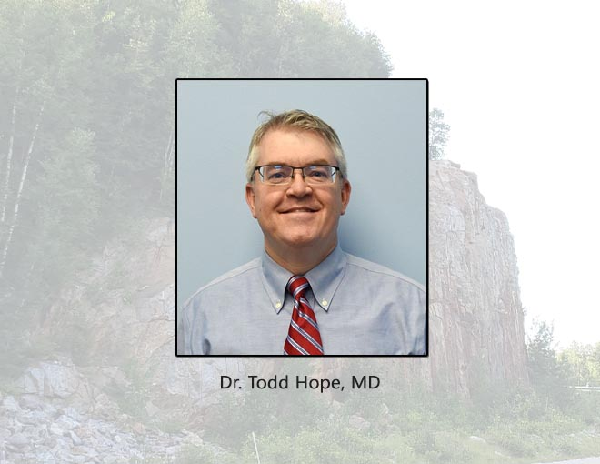 Dr. Todd Hope, MD CHP
